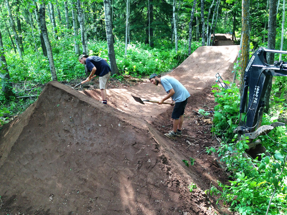 Mountain Bike Trail Building Bicycling And The Best Bike