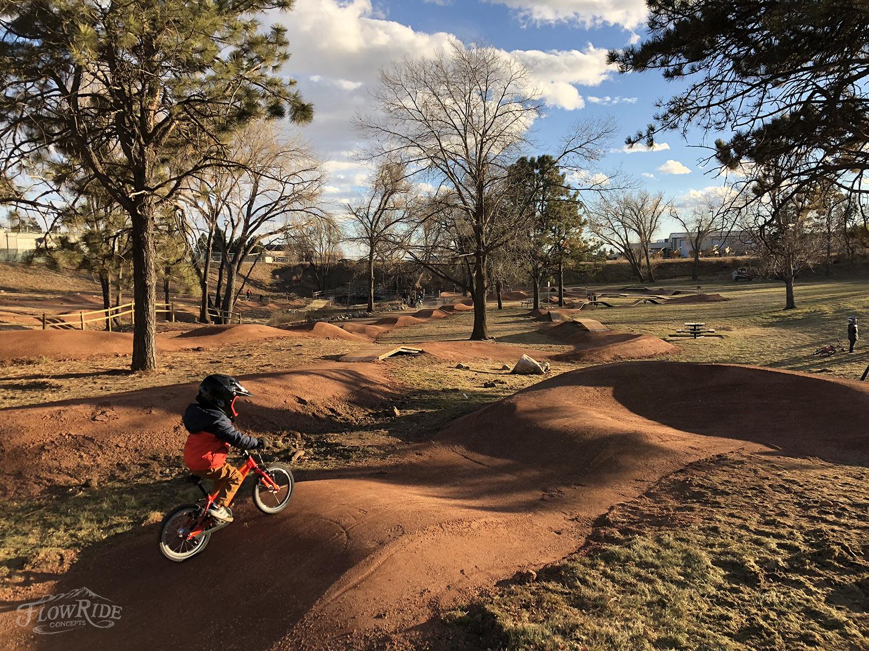 Pomar Youth Bike Park Colorado Springs